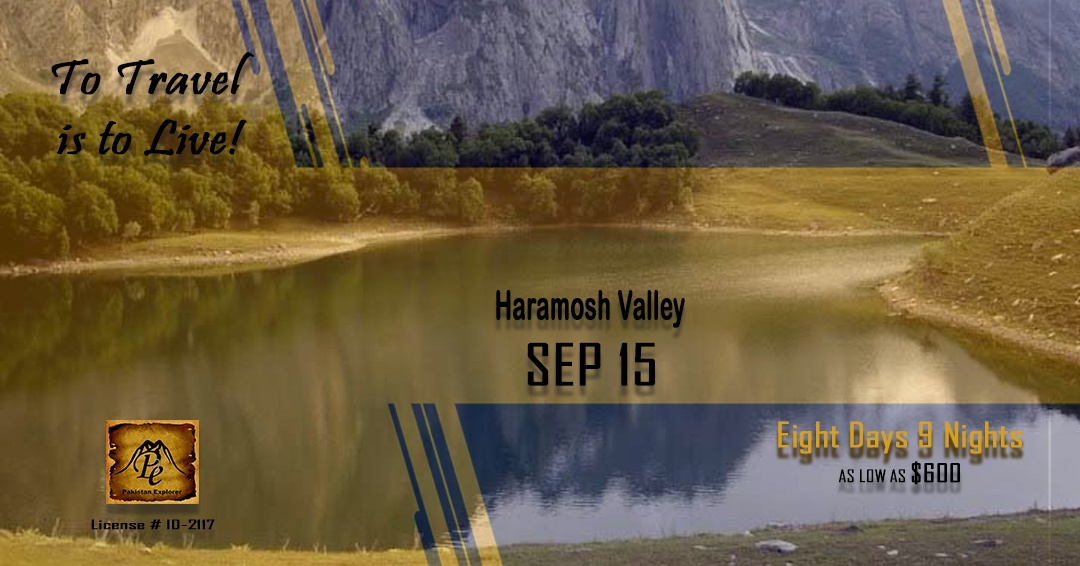 Haramosh Valley Kutwal Lake