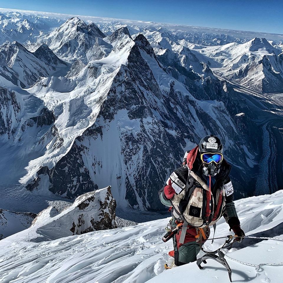 Nirmal Purja towards K2