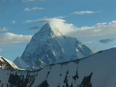 K2 seen from Gondogoro La Pass